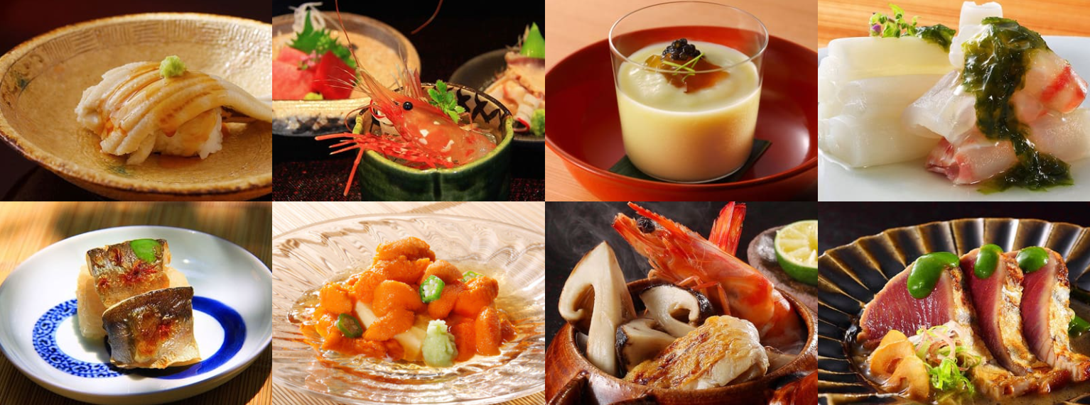 かわせみ流日本料理-御宿かわせみ前段料理