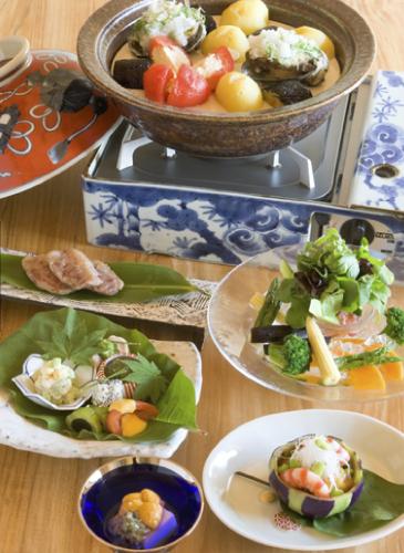 侘桜 夕食2