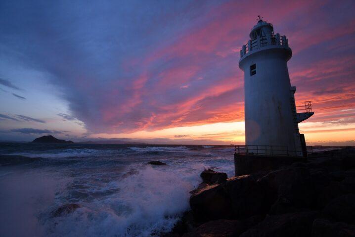 伊勢湾の灯台