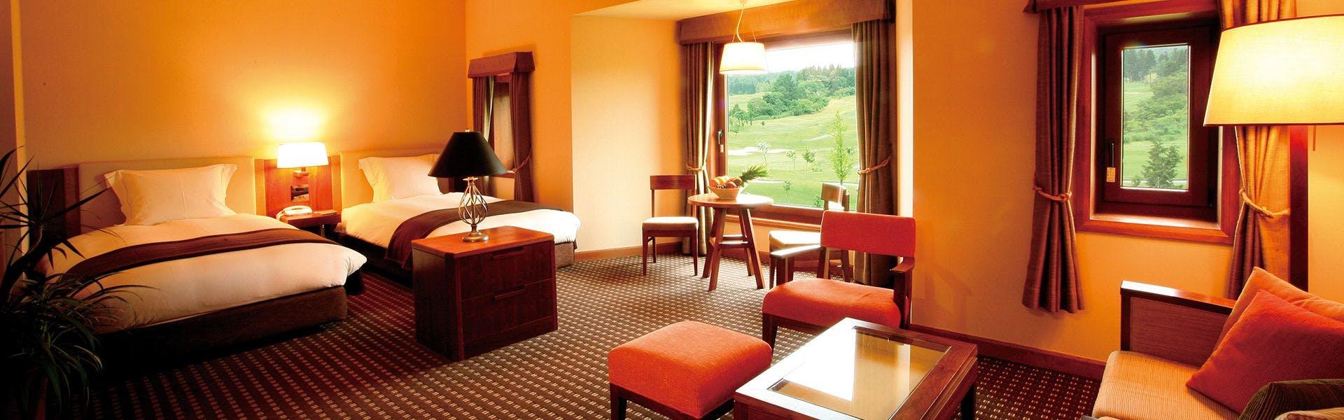 ホテル ベルナティオ客室