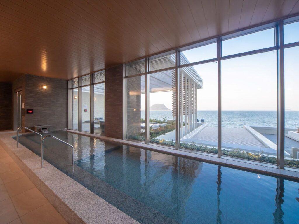 唐津シーサイドホテル大浴場2