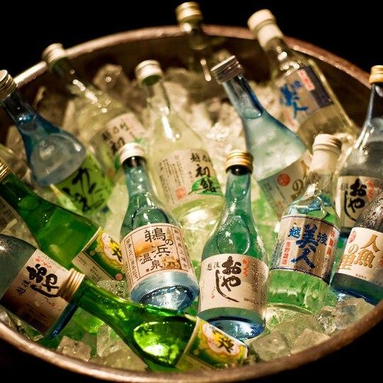 汐彩の湯みかく 地酒