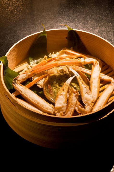 汐彩の湯みかく 蟹