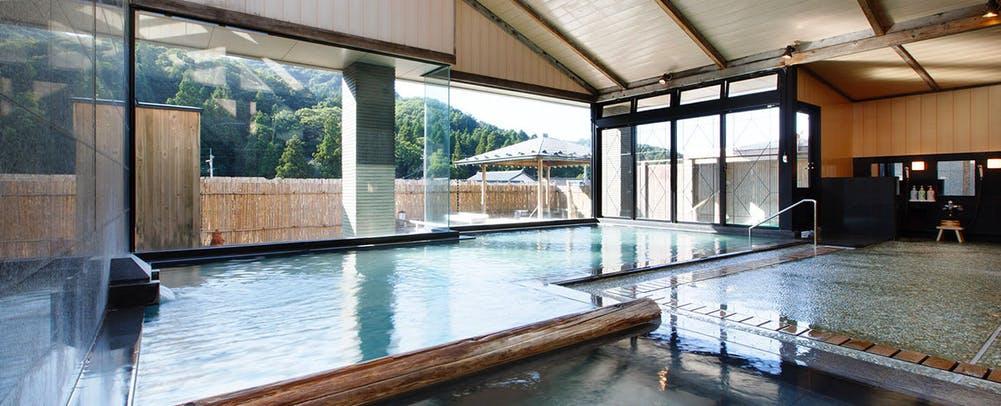 自家源泉の宿富士屋内風呂