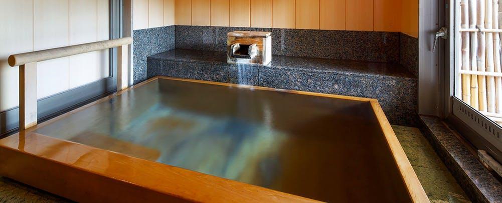 自家源泉の宿富士屋貸し切り風呂