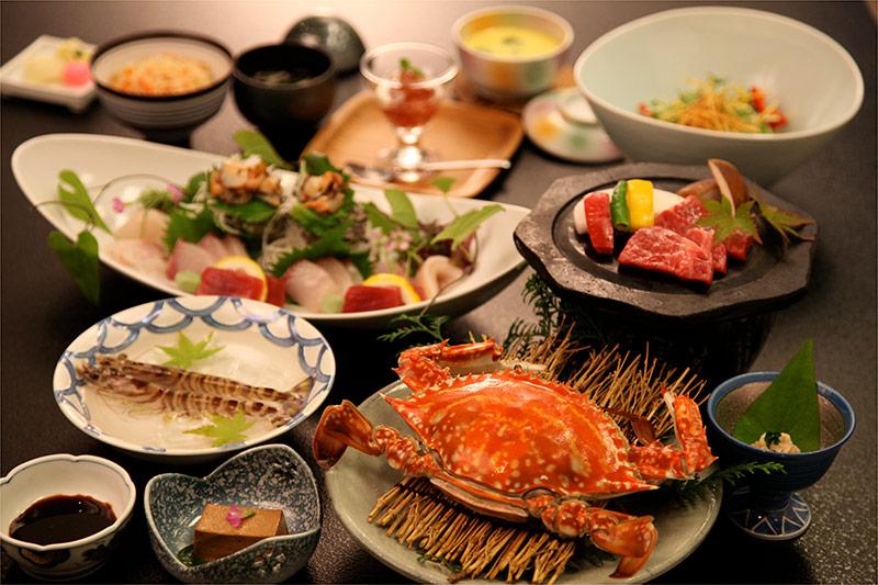 蟹御殿料理