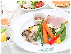 赤倉観光ホテル アクアダイニング朝食