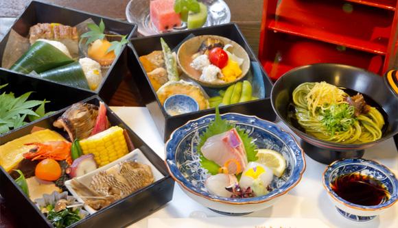 ふなや 川席料理2