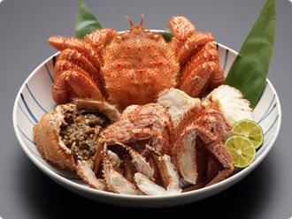 まつさき【別注料理】毛ガニ