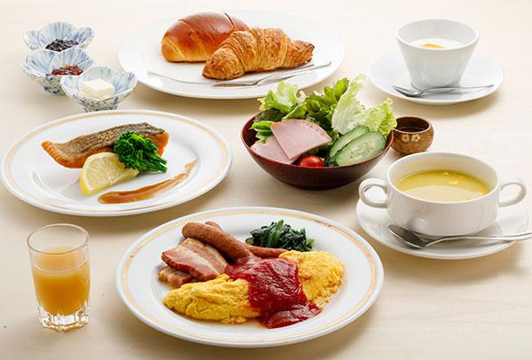 まつさき 洋朝食