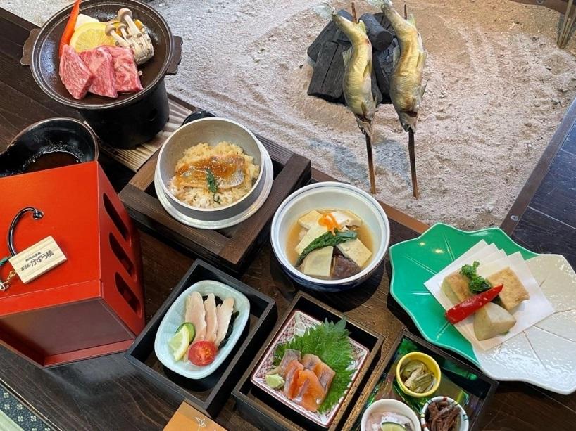 ホテルかずら橋 千年の饗膳