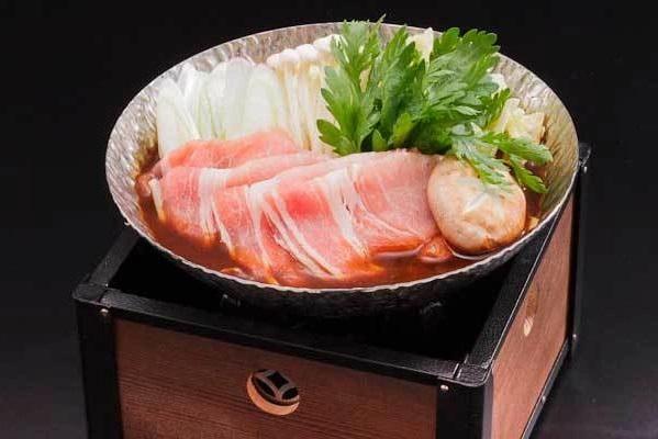 ホテルパーク 筏師鍋(いかだしなべ)2