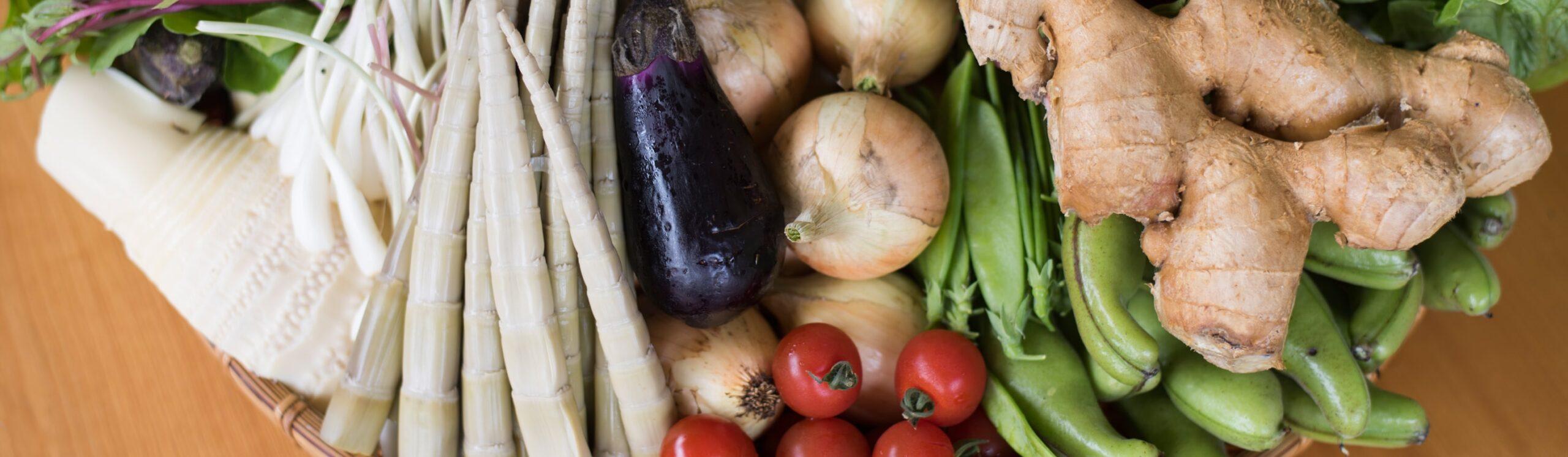 土佐山の野菜