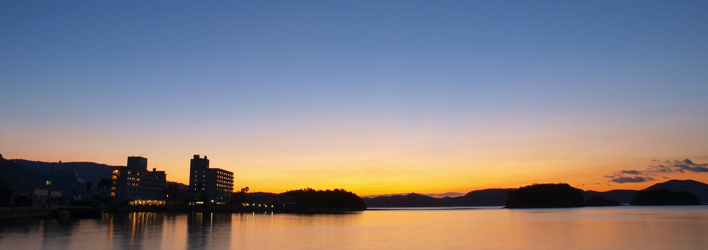 小豆島国際ホテル 夕景
