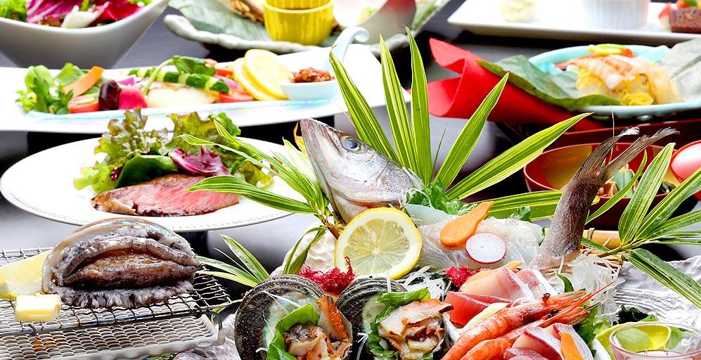 小豆島国際ホテル 料理1