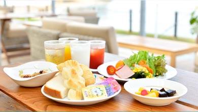 小豆島国際ホテル 朝食バイキング1