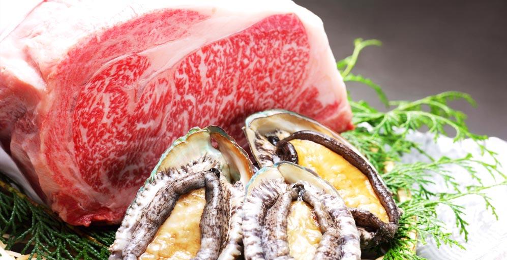 小豆島国際ホテル 食材