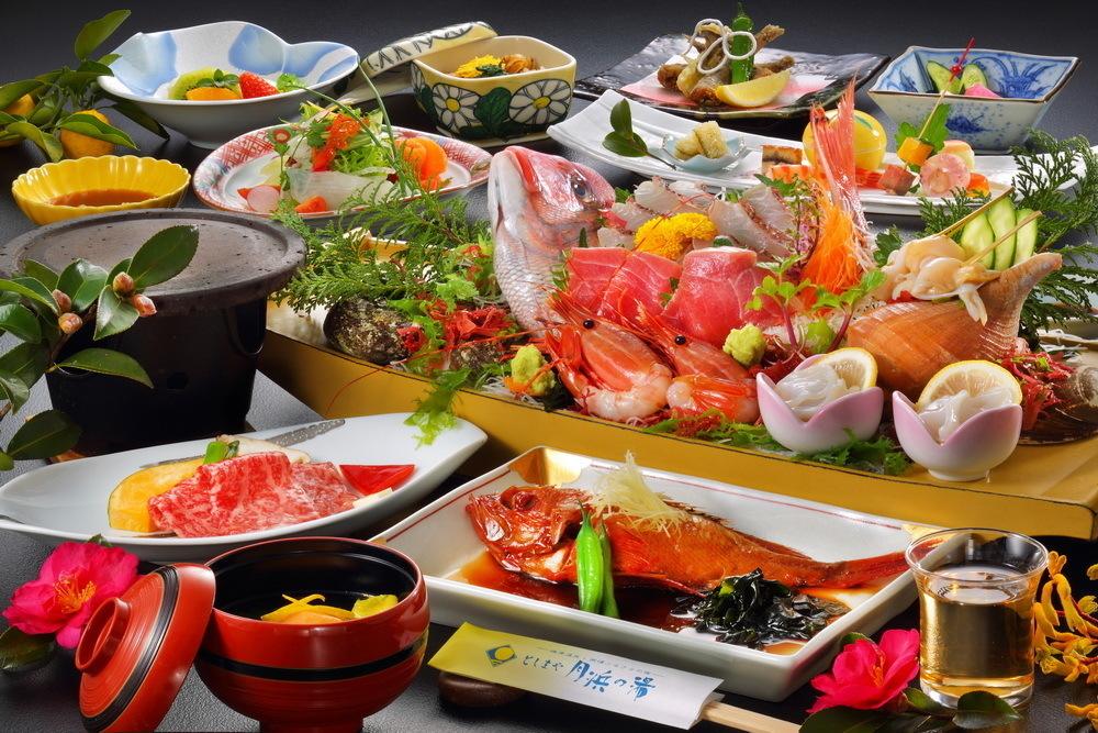 月浜の湯 月浜海食膳(春)