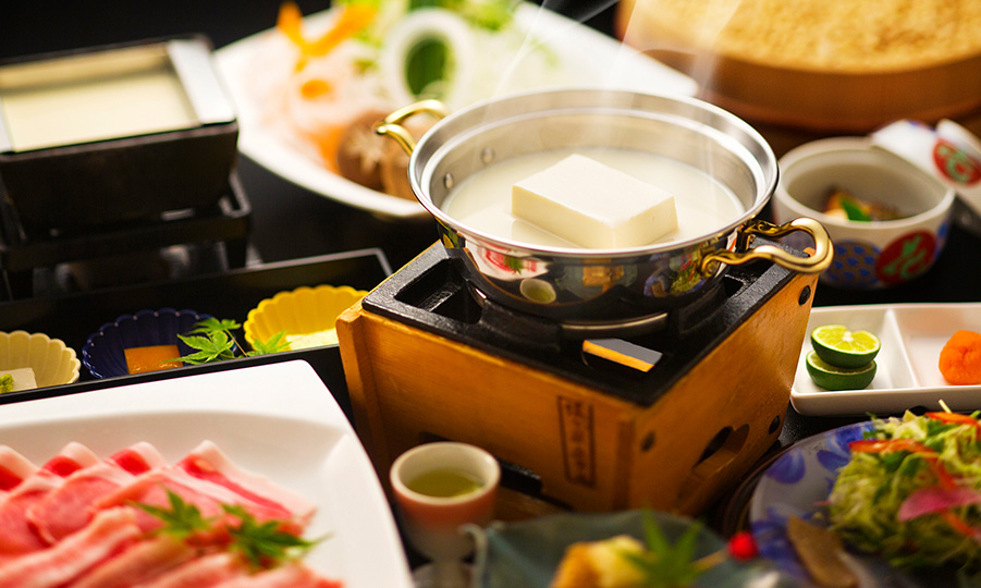 猿ヶ京ホテル 豆富懐石