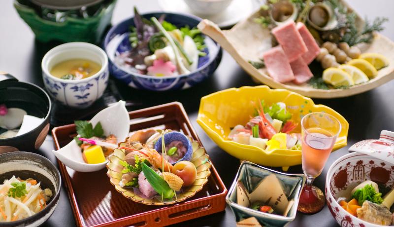 百楽荘 料理2