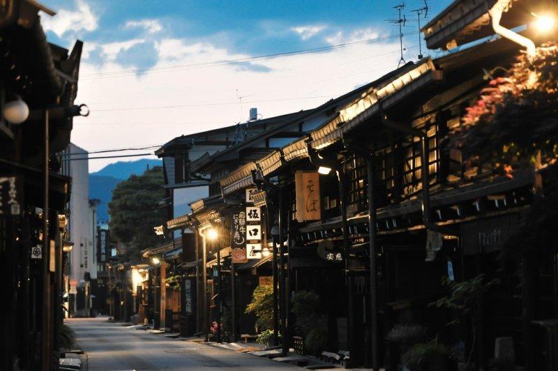 飛騨高山の町並み