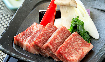 旅の宿 丸京 〇饗膳 牛肉