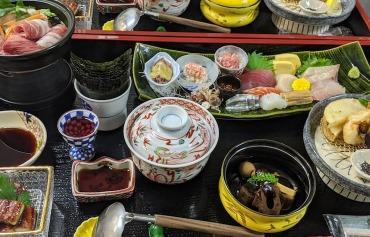 京屋旅館 夕食