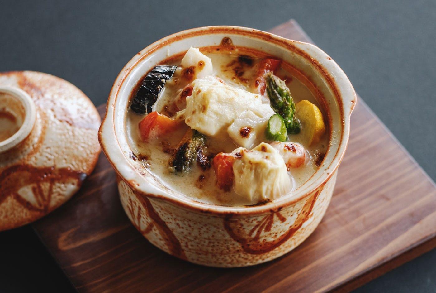 鬼怒川金谷ホテル 夏野菜の海鮮グラタン