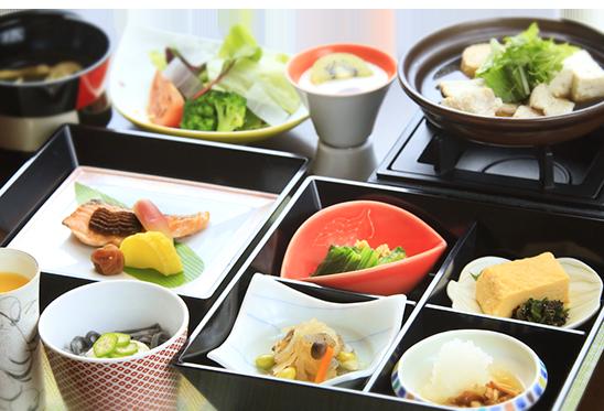 旅の宿 丸京 朝食