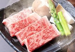 旅の宿 丸京 霧降高原牛のステーキ