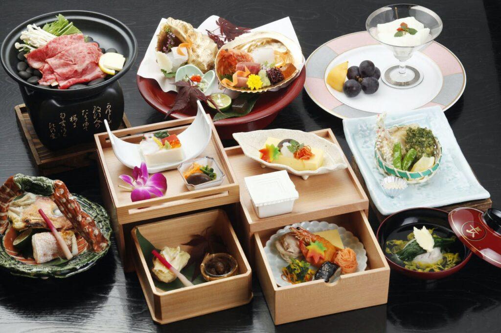 美よし 名古屋名物付き創作会席料理一例