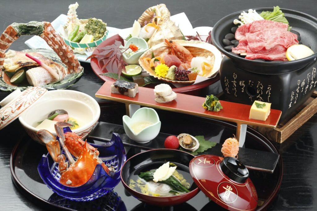 美よし 名古屋名物付き創作会席料理一例2