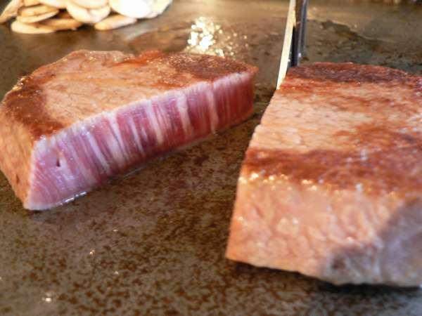 鉄板焼の宿 菊 那須和牛ヒレステーキ